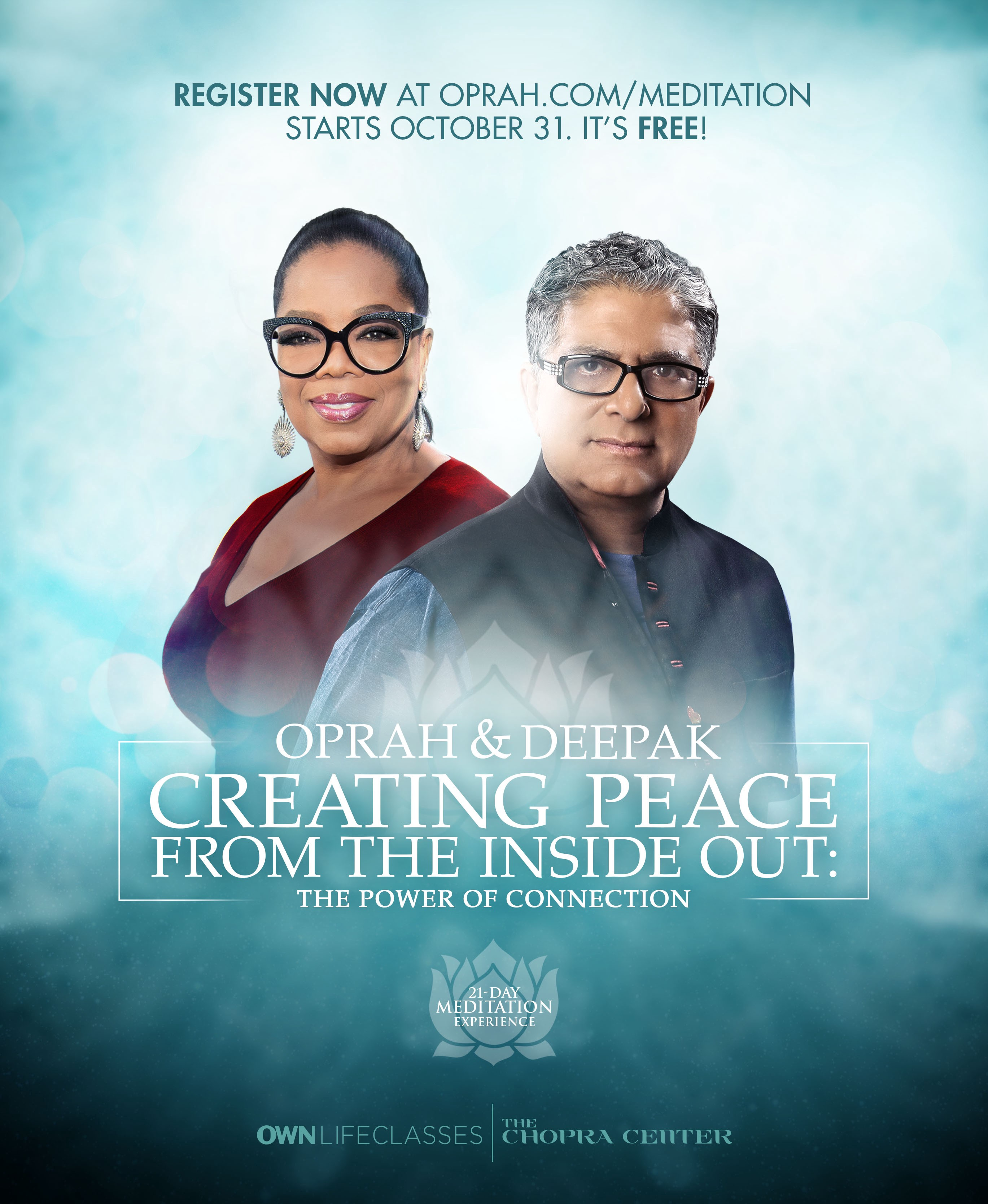 Meditation with Deepak Chopra and Oprah Winfrey